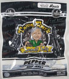 Tahoe Tony's Jammin' Jerky - Pepper 100% Grass-fed Beef Jerky