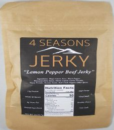 4 Seasons Jerky - Lemon Pepper Beef Jerky