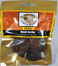 CopperNose Jerky - Spicy Beef Jerky