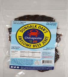 Dundalk Dan's Awesome Beef Jerky - Chesapeake Beef Jerky