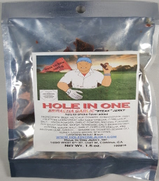 Hole In One Jerky - Sriracha Garlic Steak Jerky