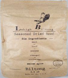 Lehigh Biltong - Secret Spice Beef Biltong