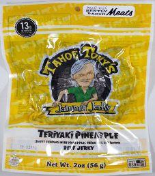 Tahoe Tony's Jammin' Jerky – Teriyaki Pineapple 100% Grass-fed Beef Jerky