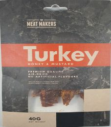 The Meat Makers - Honey & Mustard Turkey Jerky