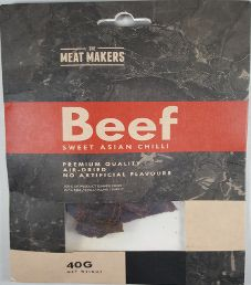 The Meat Makers - Sweet Asian Chili Beef Jerky