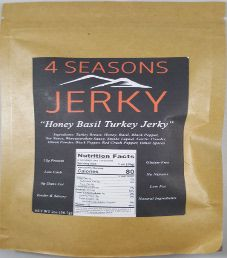4 Seasons Jerky - Honey Basil Turkey Jerky