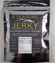 4 Seasons Jerky - Sweet Mesquite Habanero Beef Jerky