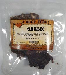 Get Hooked Beef Jerky - Garlic Beef Jerky