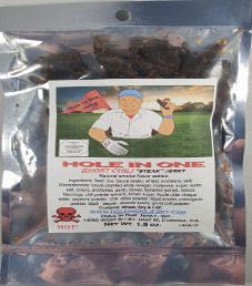Hole In One Jerky - Ghost Chili Steak Jerky