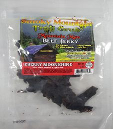 Smoky Mountain Trail Grub - Cherry Moonshine Beef Jerky