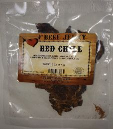 Get Hooked Beef Jerky - Red Chile Beef Jerky