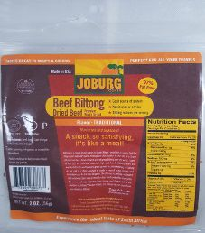 Joburg - Traditional Beef Biltong (Review #1)