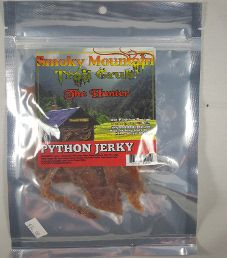Smoky Mountain Trail Grub - Teriyaki Python Jerky