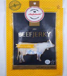 Aufschnitt Meats - Teriyaki 100% Grass-fed Beef Jerky