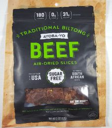 Ayoba-Yo - Traditional 100% Grass-Fed Beef Biltong