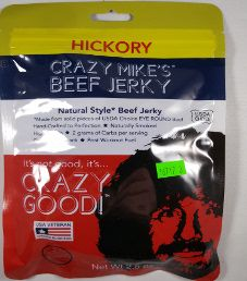 Crazy Mike's Beef Jerky - Hickory Beef Jerky
