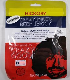 Crazy Mike's Beef Jerky - Peppered Beef Jerky
