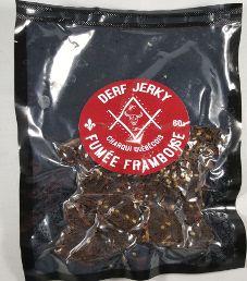 Derf Jerky - Fumée Framboise (Smoked Raspberry) Beef Jerky