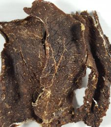 Get Hooked Beef Jerky - Peppered Beef Jerky