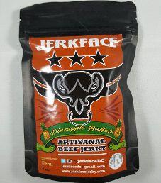 Jerkface - Pineapple Buffalo Beef Jerky
