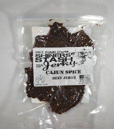 Shiners Stash - Cajun Spice Beef Jerky