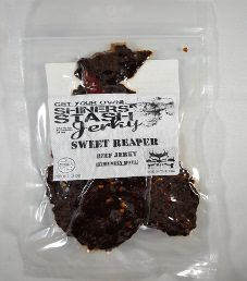 Shiners Stash - Sweet 'Reaper Beef Jerky