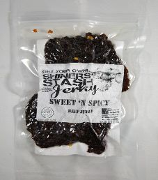 Shiners Stash - Sweet 'N Spicy Beef Jerky