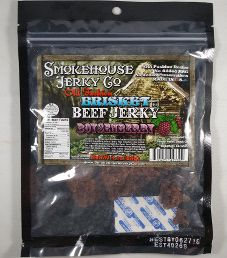 Smokehouse Jerky Co. - Boysenberry Beef Brisket Jerky
