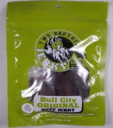 Two Brothers Jerky - Bull City Original 100% Grass-Fed Beef Jerky