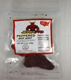 JerkyPro - Peppered 100% Grass-Fed Beef Jerky