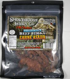 Smokehouse Jerky Co. - Carne Asada Beef Brisket Jerky