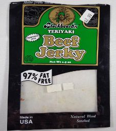 Blackbeard's - Teriyaki Beef Jerky (Review #1)