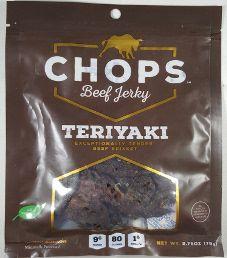 Chops Beef Jerky - Teriyaki Beef Jerky