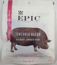 EPIC Bites - Uncured Bacon Hickory Smoked Pork Bites