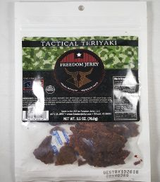 Freedom Jerky - Tactical Teriyaki Beef Jerky