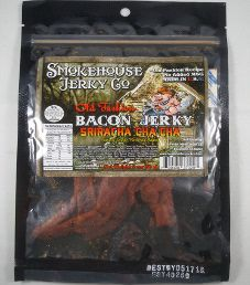 Smokehouse Jerky Co. - Sriracha Cha Cha Bacon Jerky (Review #2)