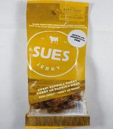 Sue's Jerky - Sweet Paprika Curry Beef Jerky