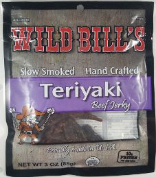 Wild Bill's - Teriyaki Beef Jerky (Review #2)