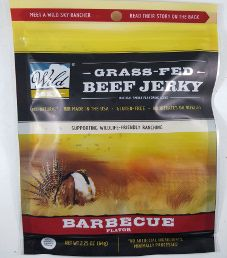 Wild Sky - Barbecue 100% Grass-Fed Beef Jerky