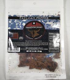 Freedom Jerky - Payload Pepper Beef Jerky
