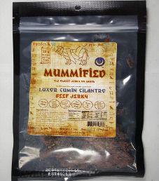 Halal Mummified Jerky - Luxor Cumin Cilantro Halal Beef Jerky