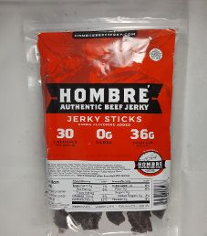 Hombre Authentic Beef Jerky - Original Beef Jerky Sticks