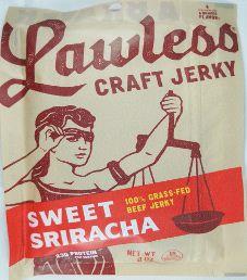 Lawless Jerky - Sweet Sriracha 100% Grass-Fed Beef Jerky (Review #2)
