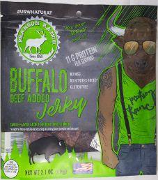Pearson Ranch Jerky - Hickory Buffalo Beef Jerky