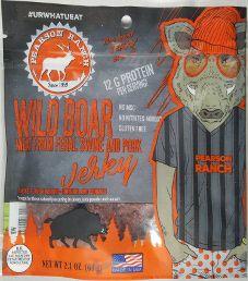 Pearson Ranch Jerky - Hickory Wild Boar Pork Jerky