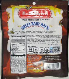 Sweet Baby Ray's - Honey Barbecue Beef Jerky