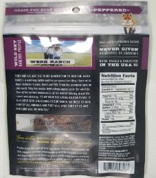 Wild Sky - Peppered 100% Grass-Fed Beef Jerky