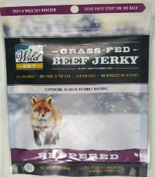 Wild Sky - Peppered 100% Grass-Fed Beef Jerky