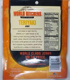 World Kitchens - Teriyaki Beef Jerky