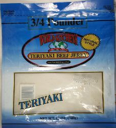World Kitchens - Teriyaki Beef Jerky (Recipe #1)